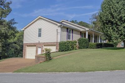 Goodlettsville Single Family Home Under Contract - Not Showing: 220 Charleston Dr