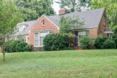 Nashville Single Family Home Under Contract - Showing: 4406 Honeywood Dr