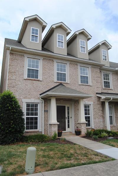 Murfreesboro TN Condo/Townhouse For Sale: $242,900