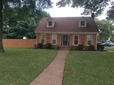 Smyrna Single Family Home Under Contract - Not Showing: 108 Sugar Creek Ln