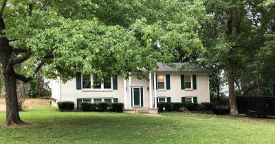 Clarksville Single Family Home Under Contract - Showing: 155 E Regent Dr