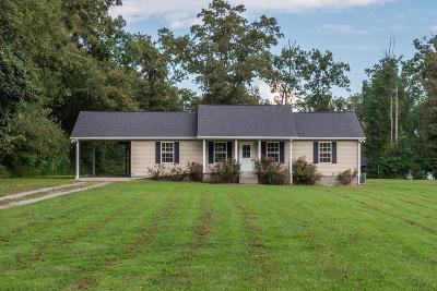 Bradyville Single Family Home Under Contract - Showing: 100 Smith Rd