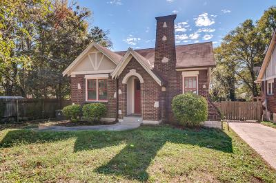 Nashville Single Family Home Under Contract - Showing: 2113 Creighton Ave
