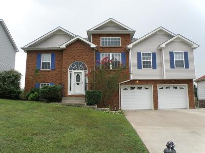 Clarksville Single Family Home For Sale: 3415 Quicksilver Ln