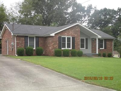 Clarksville Single Family Home Under Contract - Showing: 618 Cayce Dr