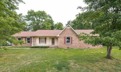 Murfreesboro Single Family Home Under Contract - Not Showing: 3386 Ridgefield Dr