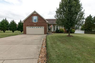 Clarksville Single Family Home For Sale: 621 Fieldstone Ct