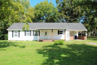 Shelbyville Single Family Home Under Contract - Not Showing: 207 Meadow Dr