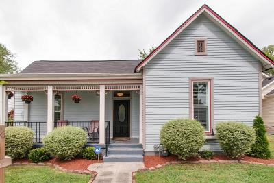 East Nashville Single Family Home Under Contract - Showing: 1206 Joseph Ave