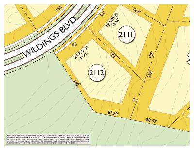 Williamson County Residential Lots & Land For Sale: 7205 Wildings Blvd (Lot 2112)