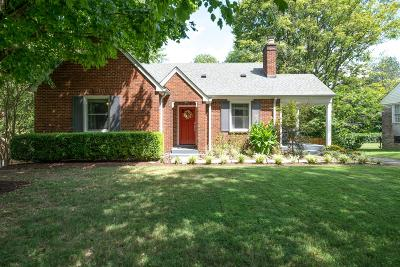 Single Family Home For Sale: 3508 Robin Rd