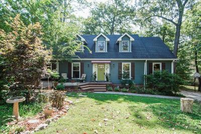 Kingston Springs Single Family Home Under Contract - Showing: 188 Harpeth View Trl