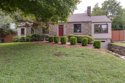 Nashville Single Family Home For Sale: 2000 McGavock Pike