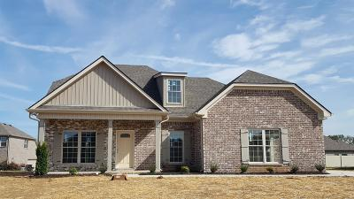Murfreesboro Single Family Home Under Contract - Not Showing: 2407 Tin Cup Dr.- #89