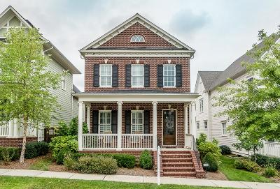 Franklin Single Family Home Under Contract - Showing: 5008 Captain Freeman Pkwy