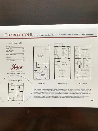Smyrna Single Family Home For Sale: 1011 Avery Park Drive
