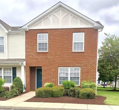 Murfreesboro Condo/Townhouse Under Contract - Not Showing: 372 Shoshone Pl