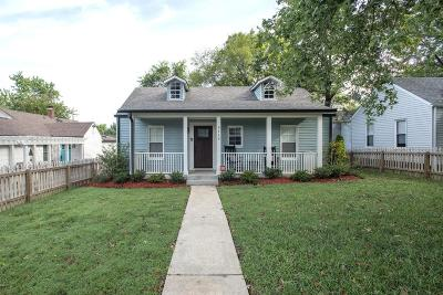 Sylvan Park Single Family Home Under Contract - Showing: 4112 Wyoming Ave
