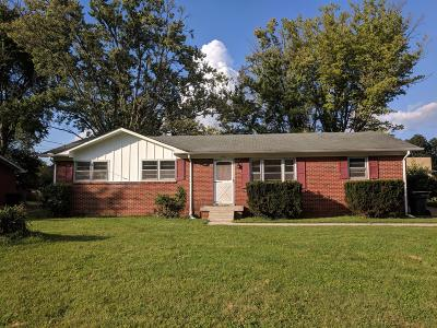 Rutherford County Single Family Home Under Contract - Not Showing: 1511 Eagle St