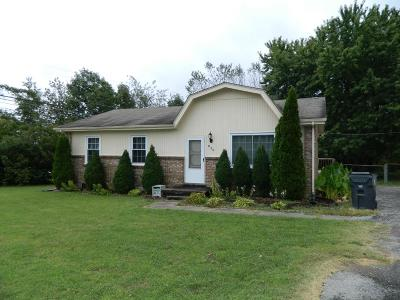 Clarksville TN Single Family Home Under Contract - Not Showing: $99,000