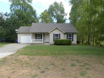 Christian County, Ky, Todd County, Ky, Montgomery County Single Family Home Under Contract - Showing: 547 Somerset Ln