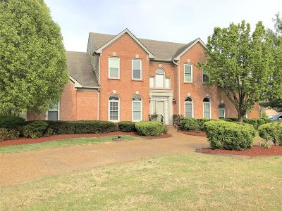 Old Hickory Single Family Home For Sale: 1609 Rachel Way