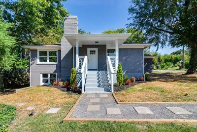 Nashville Single Family Home For Sale: 4900 Nevada Ave