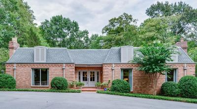 Nashville Single Family Home Under Contract - Showing: 2206 Chickering Ln