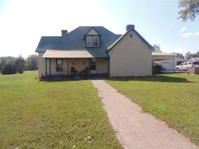 Shelbyville Single Family Home For Sale: 115 Temple Ford Rd