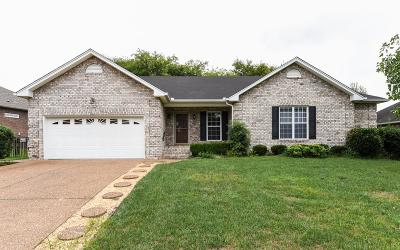 Gallatin Single Family Home Under Contract - Showing: 223 Osprey Dr