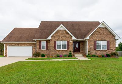 Clarksville Single Family Home Under Contract - Showing: 2578 Emerald Ct