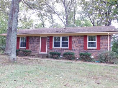 Clarksville Single Family Home Under Contract - Not Showing: 294 Lafayette Rd
