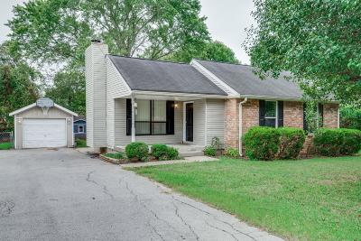 Hendersonville Single Family Home Under Contract - Not Showing: 324 Raindrop Ln