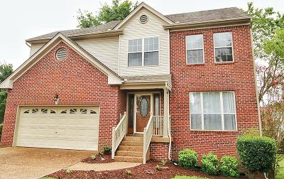 Mount Juliet Single Family Home Under Contract - Showing: 810 Wynfair Ct