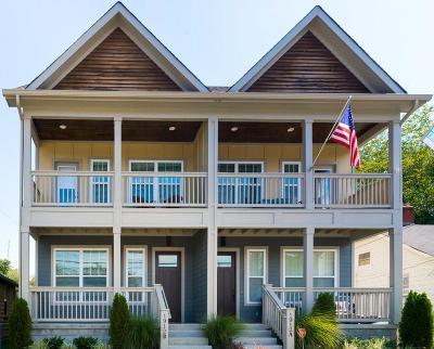 Nashville Single Family Home For Sale: 1912 B 9th Ave N