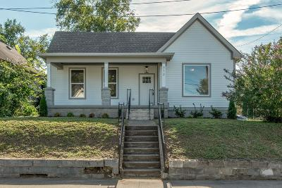 East Nashville Single Family Home Under Contract - Showing: 312 Neill Ave