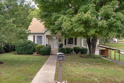 Maury County Single Family Home For Sale: 317 7th Ave