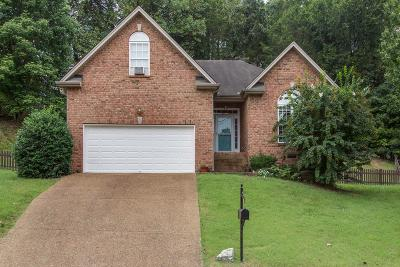 Lebanon, Mount Juliet, Mt Juliet, Mt. Juliet, Old Hickory Single Family Home Under Contract - Not Showing: 3507 Randolph Ct