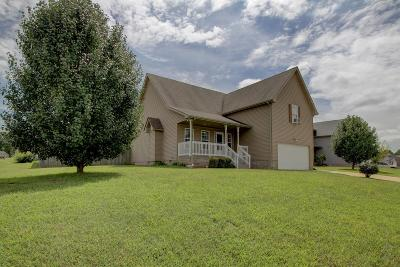 Clarksville TN Single Family Home Under Contract - Not Showing: $185,000
