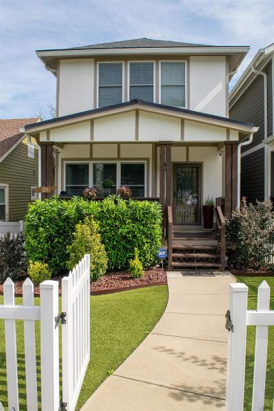 Nashville Single Family Home For Sale: 511 B N 17th St