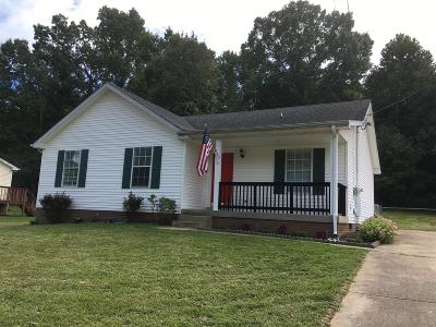 Clarksville Single Family Home Under Contract - Showing: 980 May Apple Dr