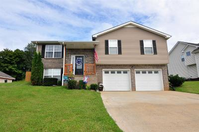 Clarksville Single Family Home For Sale: 3514 Clover Hill Dr