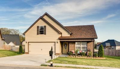 Clarksville Single Family Home Under Contract - Showing: 1918 Sunset Meadows Way
