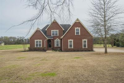 Murfreesboro Single Family Home For Sale: 4631 Shores Rd