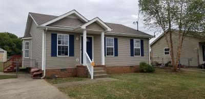 Clarksville Single Family Home For Sale: 245 Cranklen Cir