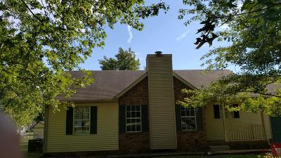 Murfreesboro Single Family Home Under Contract - Not Showing: 5309 Grassland Dr