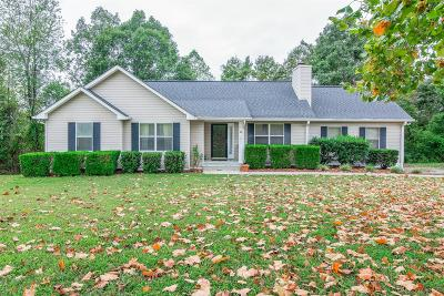 Kingston Springs Single Family Home Under Contract - Showing: 1011 Pointe Trace Dr