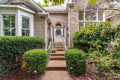 Brentwood Single Family Home Under Contract - Showing: 4916 Manassas Cir