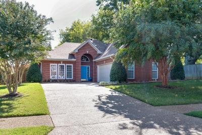 Franklin Single Family Home Under Contract - Showing: 216 Bancroft Cv