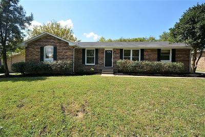 Old Hickory Single Family Home Under Contract - Not Showing: 4808 Cascade Dr